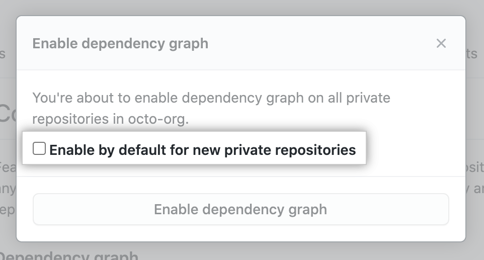 """Enable by default"" option for new repositories"
