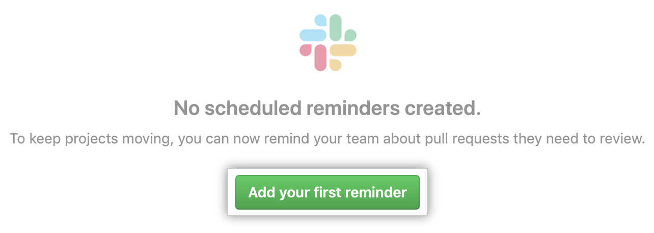 Add reminder button